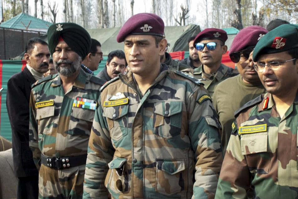 Colonel Mahendra Singh Dhoni