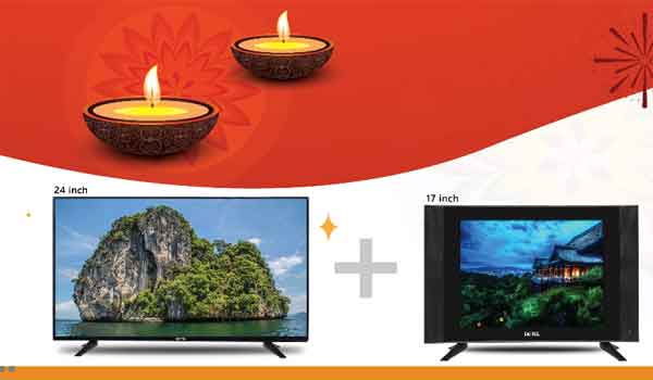 Detel offers 2 HD LED TV in Rs 7999.
