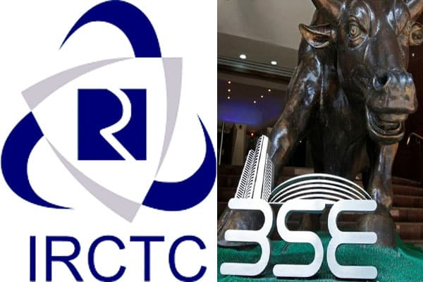 IRCTC shares trade more than double