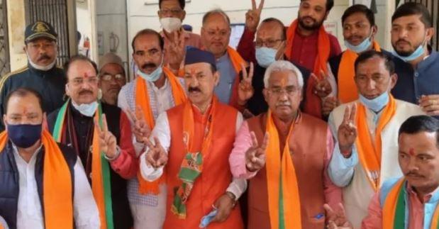 Mahesh Jeena, BJP, Salt has two voter I card